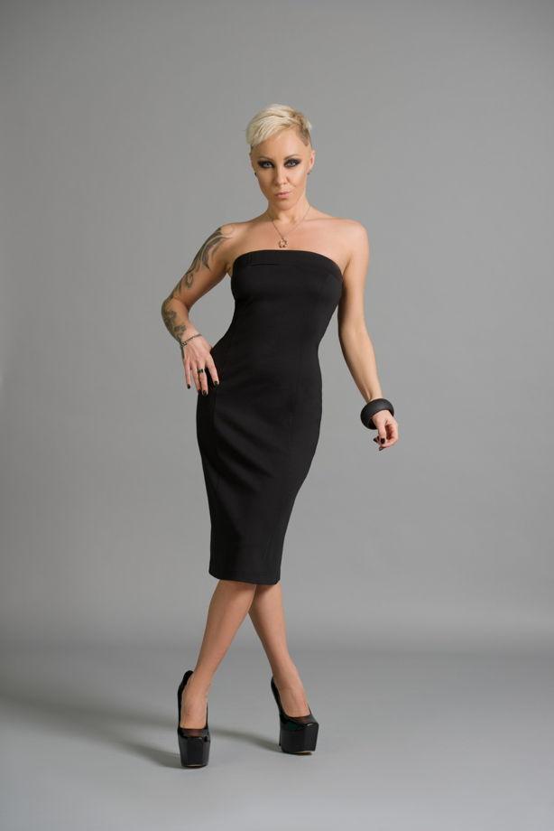 Платье-бандо, арт. Dr 021