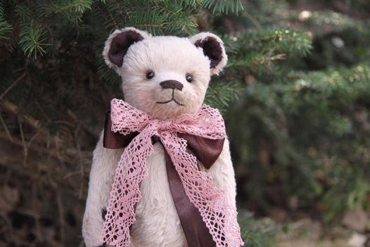 Коллекционная игрушка Мишка Тедди 'Белый шоколад'