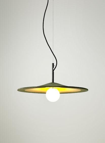Подвесной бетонный светильник AURA