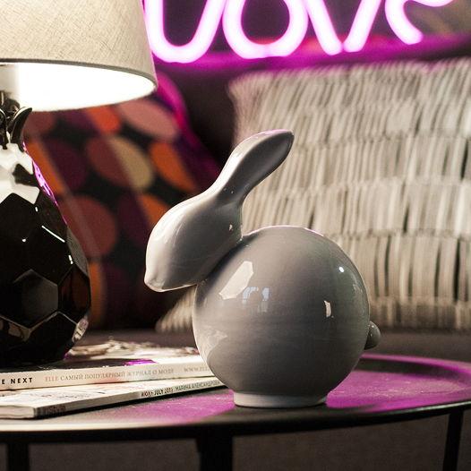 """Декоративная игрушка """"Rabbit Gray"""""""