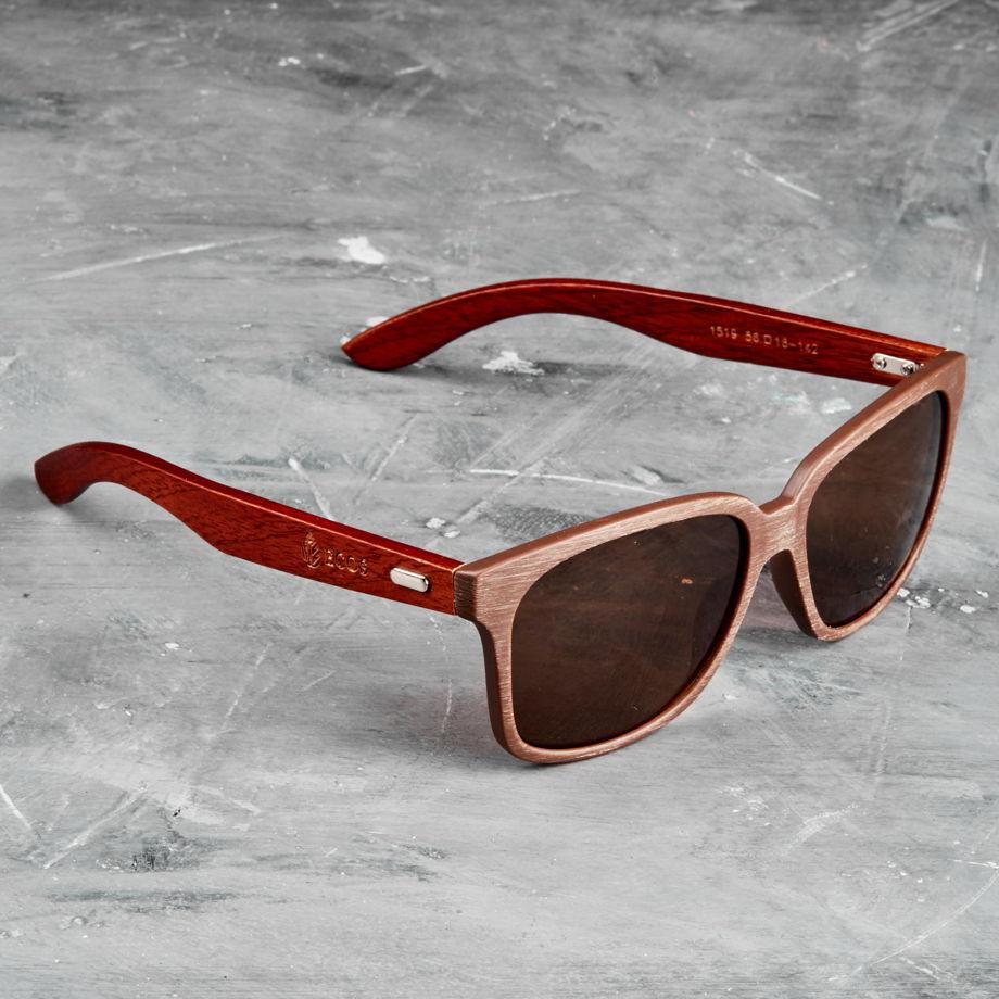 Деревянные солнцезащитные очки из Италии