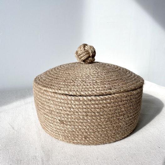 Джутовая корзина «Кулак обезьяны»