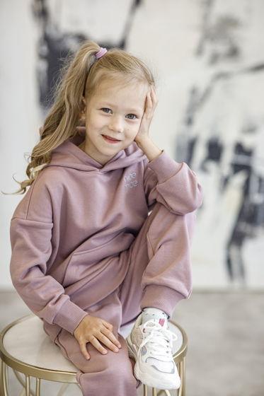 """Детский костюм из футера """"Черничный йогурт"""""""