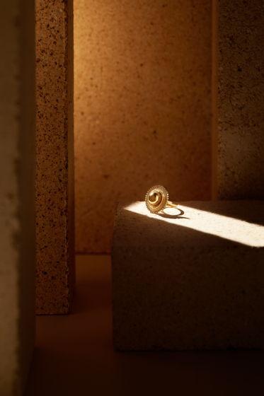 Кольцо TSEHAYI позолота