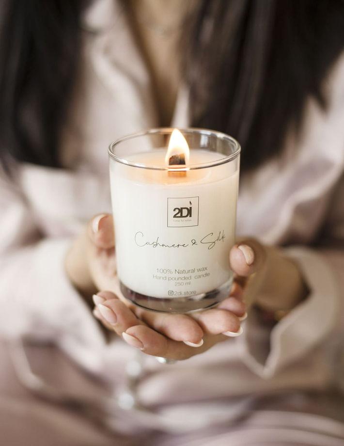 Ароматическая свеча 190 мл,Mango Sorbet, Манговый сорбет