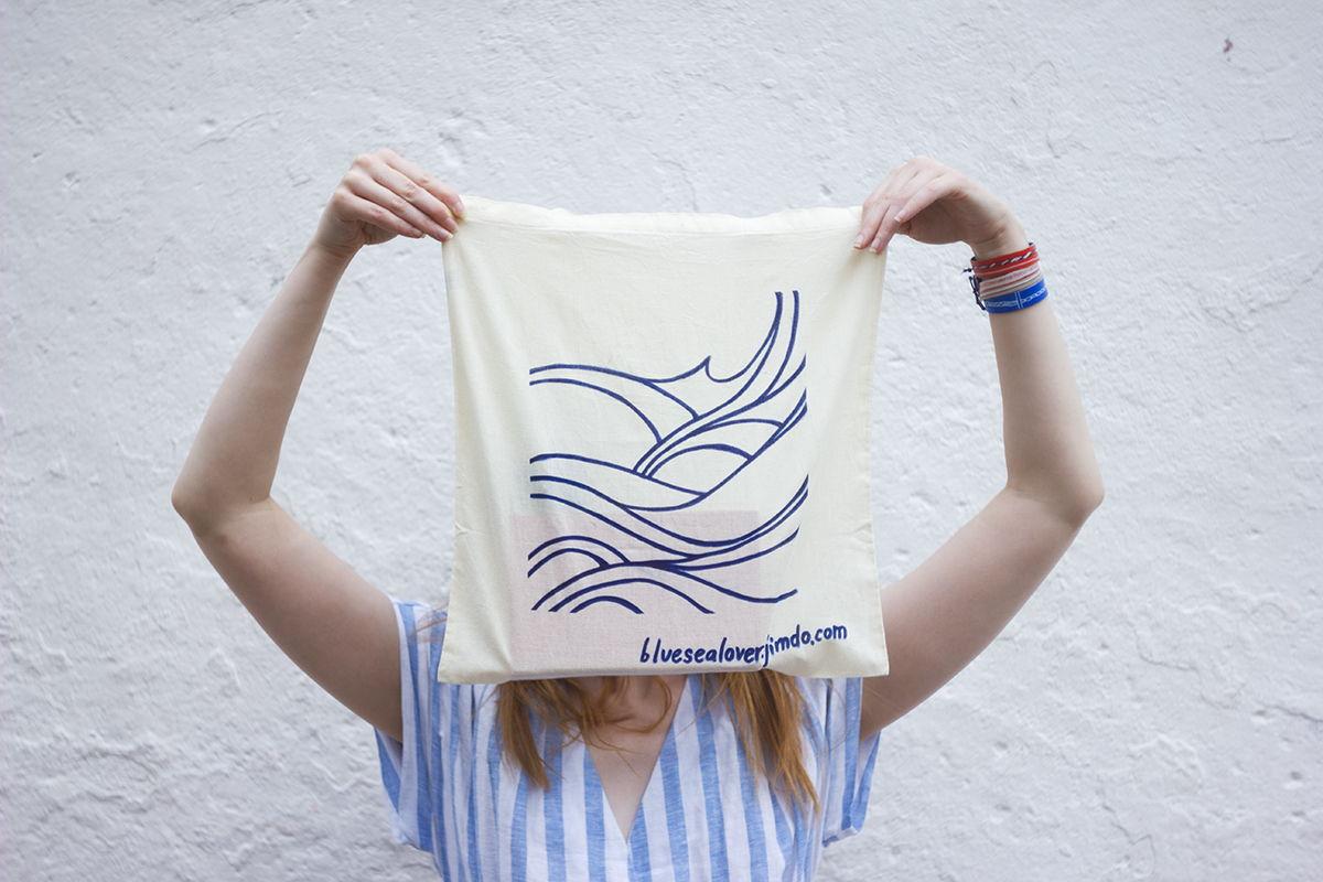 Холщовая сумка / Море, которое всегда с тобой