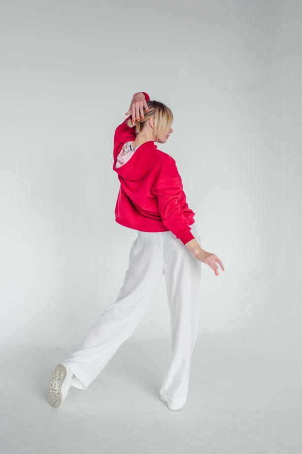 Женские брюки палаццо из купры