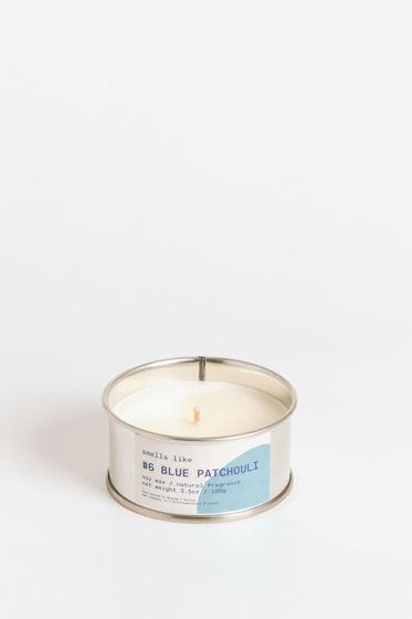 Свеча соевая Smells Like. #6 Blue Patchouli, 100г