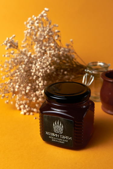 Мёд алтайский дягилевый