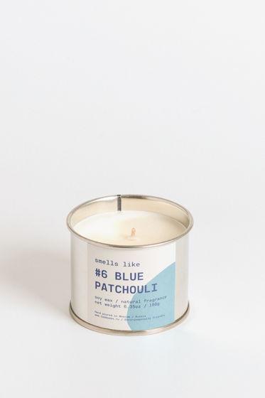 Свеча соевая Smells Like. #6 Blue Patchouli, 180г