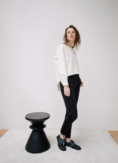 NEW узкие чёрные брюки