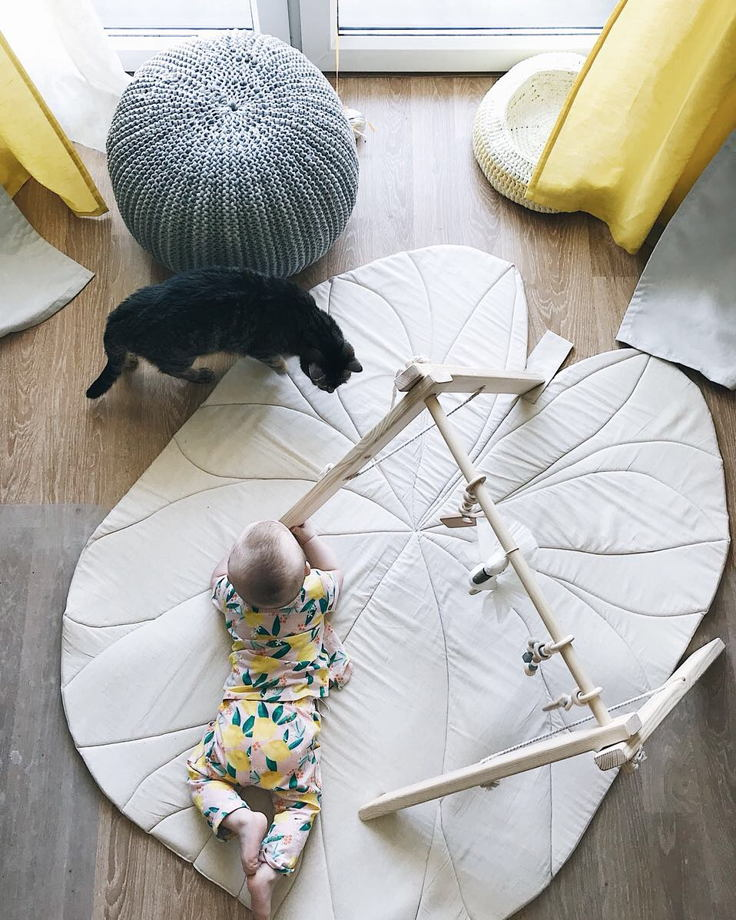 Коврик большой «Кувшинка-гигант»