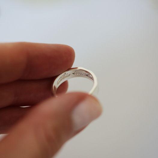 серебряное кольцо This Too Shall Pass