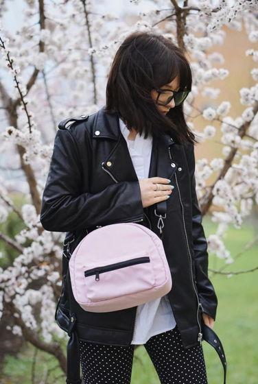 Сумка-кроссбоди TOUCAN розовая