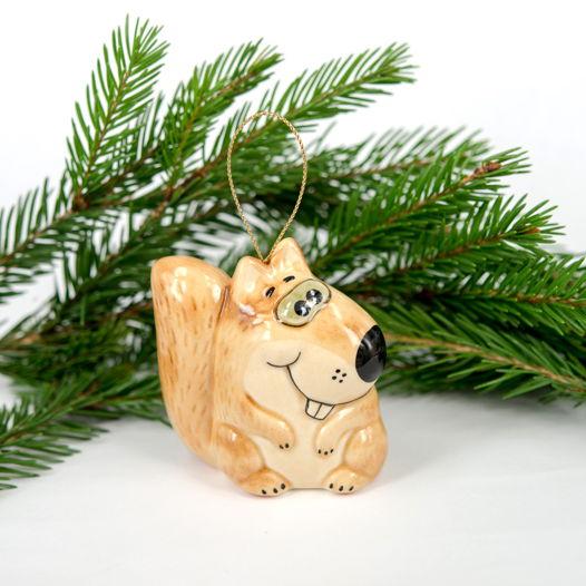Белка Игрушка на елку