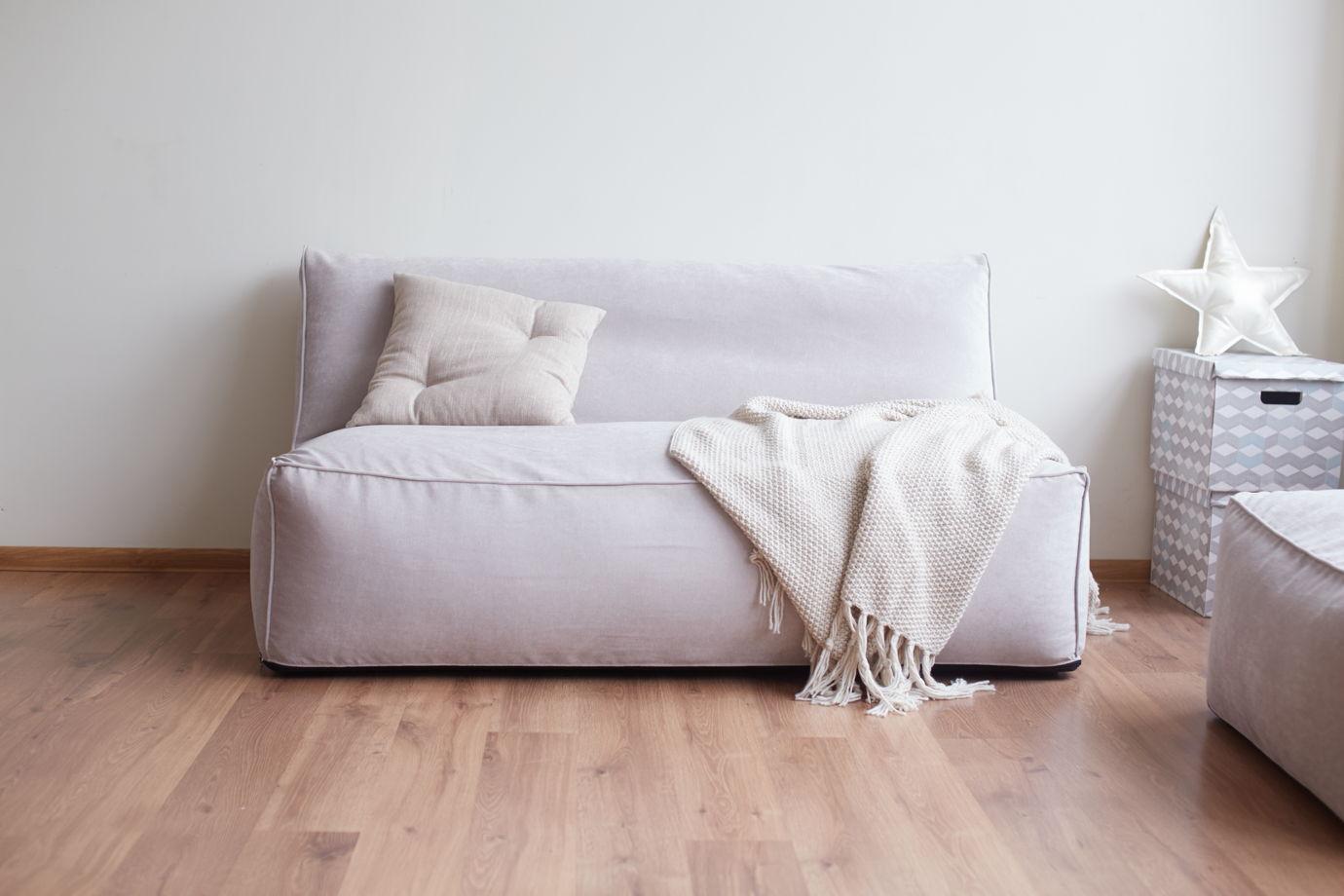 Бескаркасный двухместный диван Longer