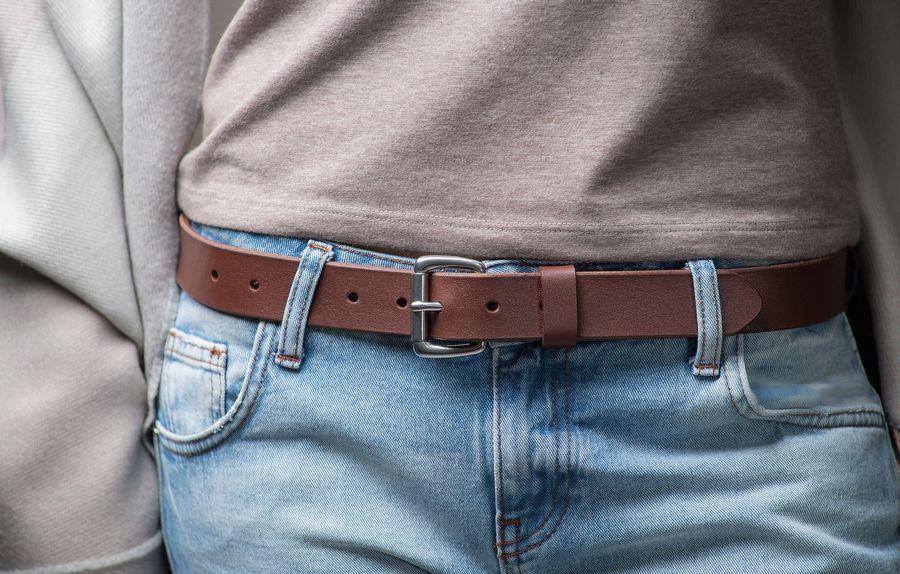 Женский ремень для джинс, модель Chocolate Chrome