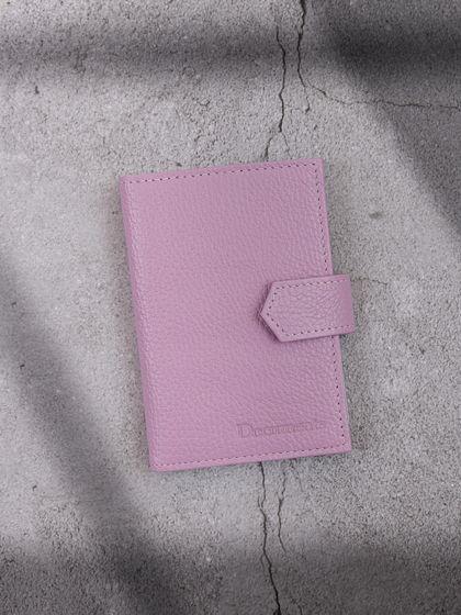 Обложка для автодокументов и паспорта Сиреневый