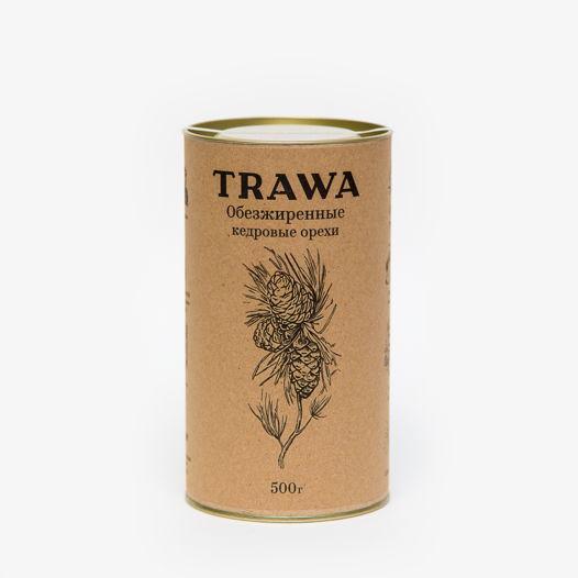 Обезжиренные кедровые орехи TRAWA, 500 гр