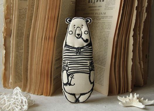 Мини медведь моряк Мартин