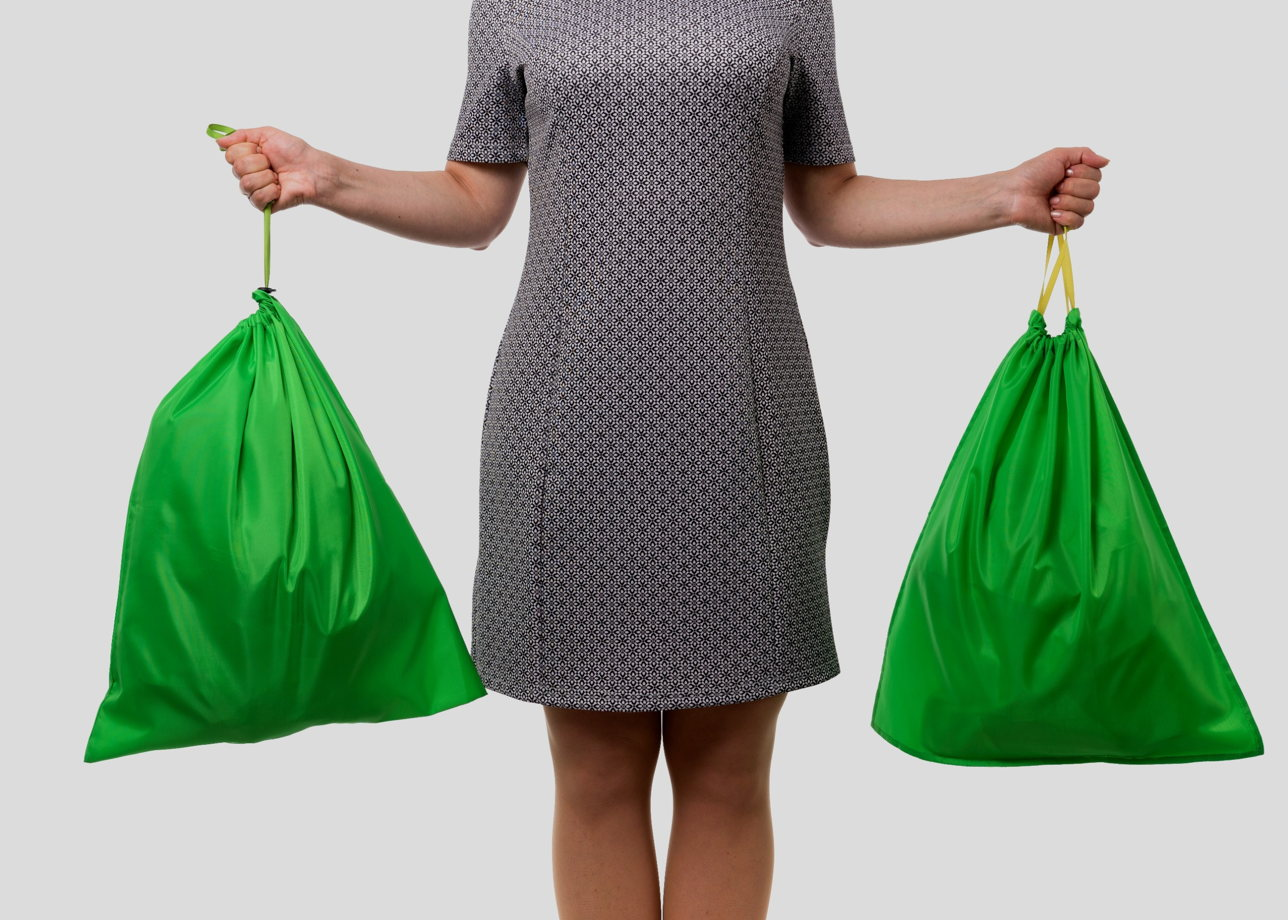 Мешки для сортировки мусора большие 2 шт.