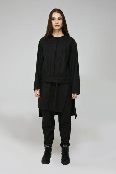 """Черный женский костюм """"TRIPLE"""""""