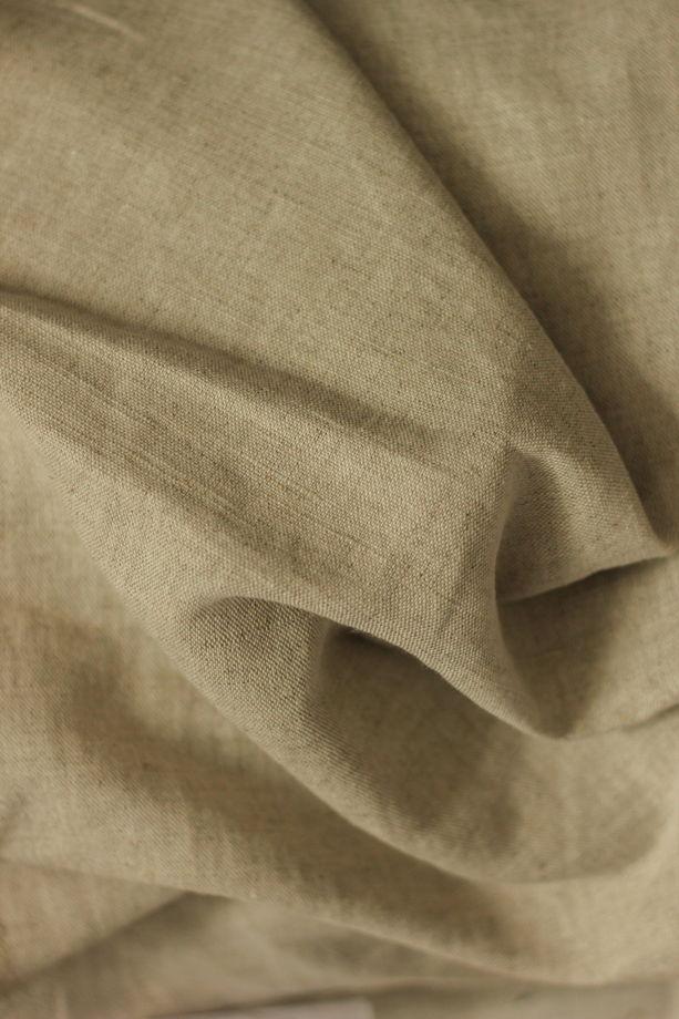 КАКАО ЧЕРНЫЙ КЛЕТКА СИНИЙ НАТУРАЛЬНЫЙ набор постельного белья из 100% льна умягчённого
