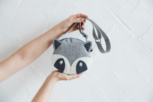 Детская сумка Енот