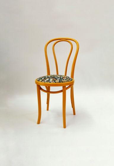 Венский стул, цветная эмаль, гобелен