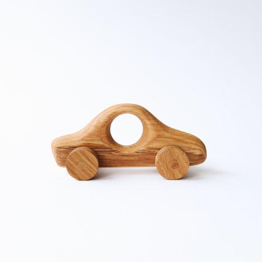 Деревянная игрушка Машина с окошком