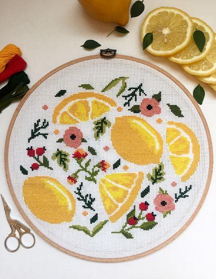 Настенное панно « Освежающий лимончик».