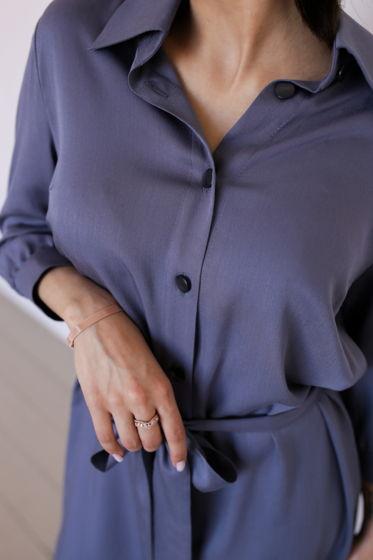 Повседневное летнее женское платье-рубашка