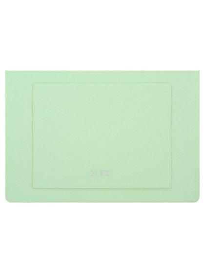 Чехол из фетра для MacBook и ноутбуков, зеленый, горизонтальный
