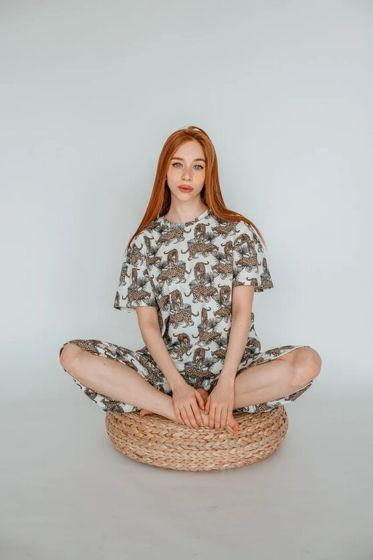 Пижама для сна Леопарды