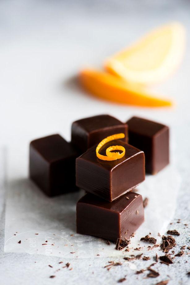 Ириски с шоколадом и апельсином 10 шт