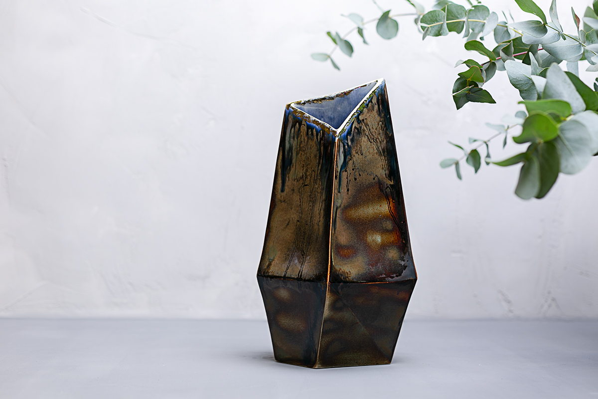 керамическая ваза Кристалл