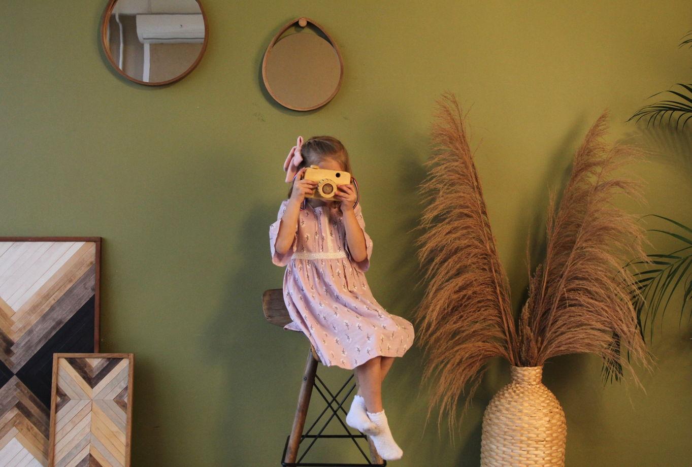 Деревянная детская игрушка - Фотоаппарат