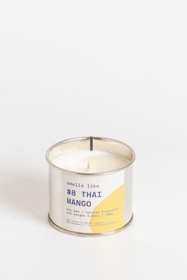 Свеча соевая Smells Like. #8 Thai Mango, 180г