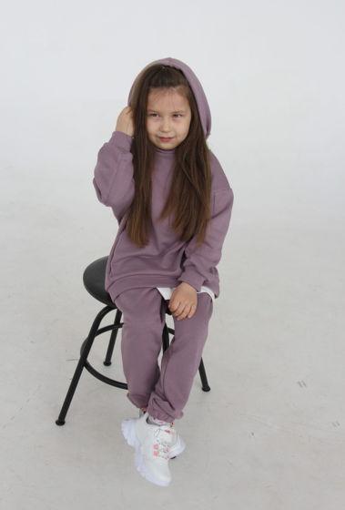 Детский костюм ОВЕРСАЙЗ Футер 3х нитка петля. Цвет тауп