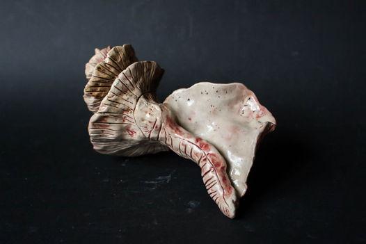 Интерьерная раковина керамическая