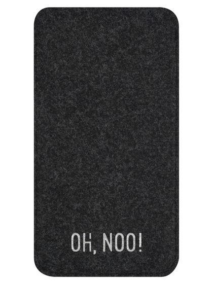 Чехол из фетра для iPhone и телефонов, черный