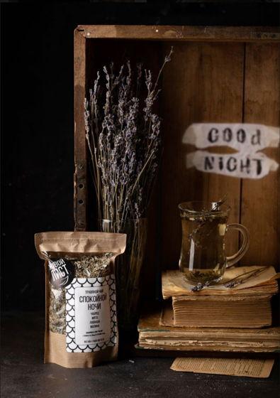 Травяной чай «Спокойной ночи»