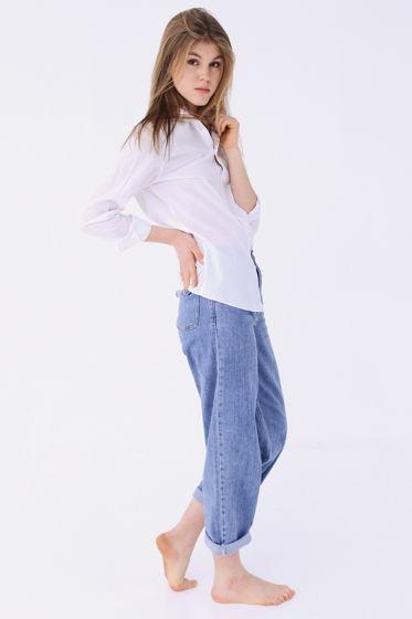 Джинсы женские #005 Relaxed fit