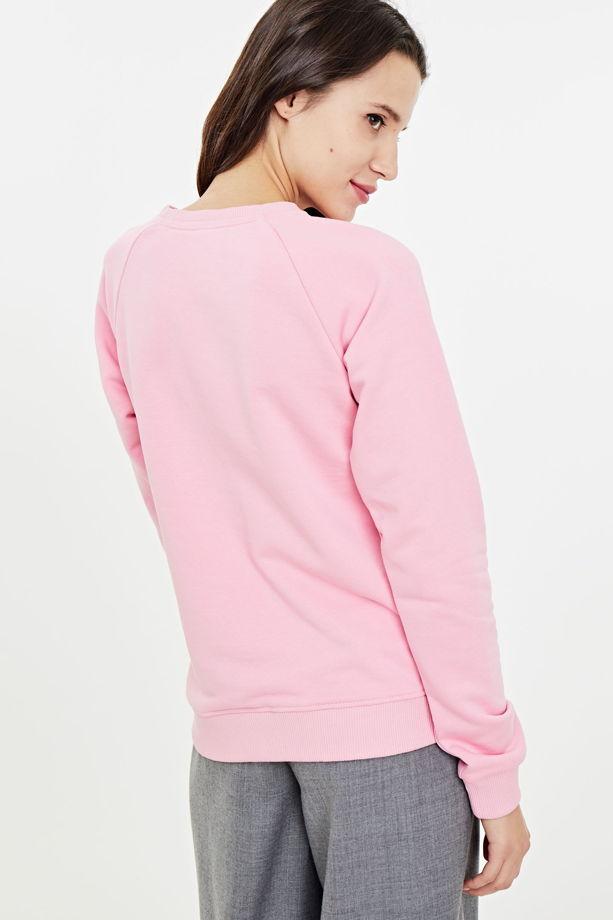Толстовка с принтом «шальная императрица», в розовом цвете