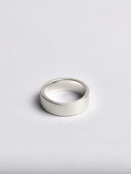 Серебряное кольцо ШАЙБА