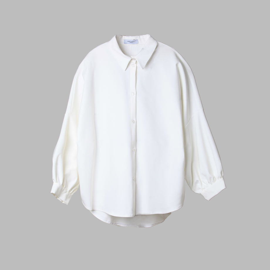 Дизайнерская рубашка свободного кроя