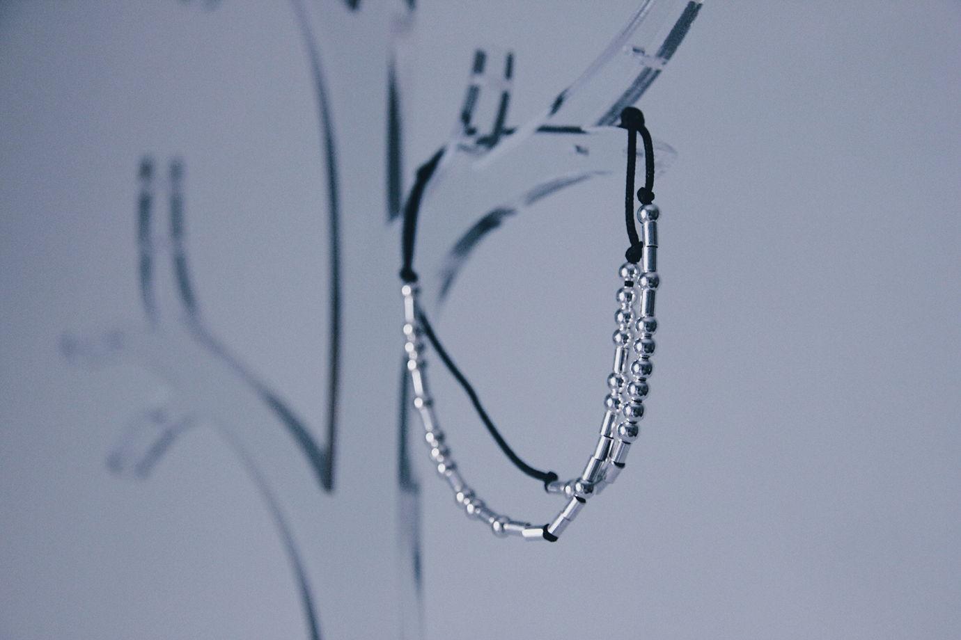 Двойной браслет с вашей фразой на азбуке Морзе