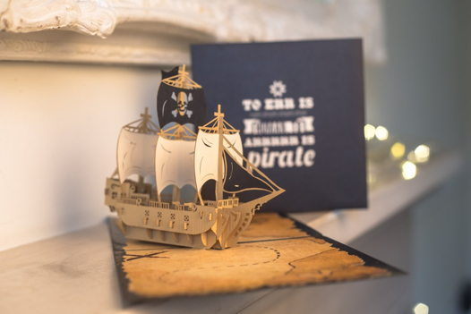 КОРАБЛИ 3D открытки на 23 февраля, ручная работа