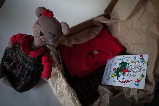 Новогодний box для девочки