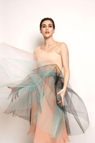 Репетиционная юбка-шопенка buterbrot для танцев / хореографии
